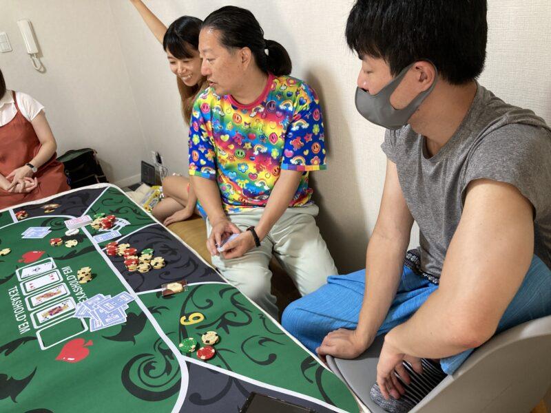 人数が増えてきたらポーカー。